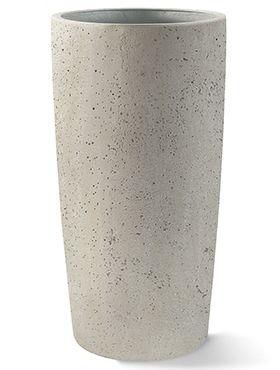 Grigio Vaas M wit beton