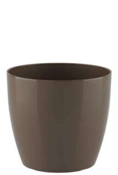 Artevasi taupe plastic pot