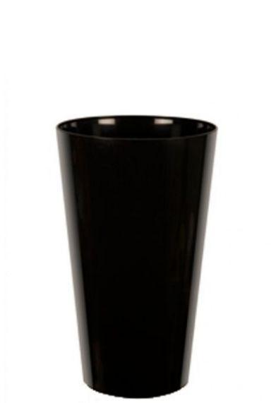 Artevasi zwart hoge pot