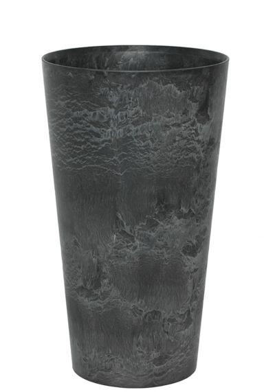 Artstone claire vaas zwart