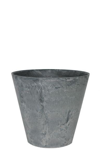 Artstone grijs plantenpot