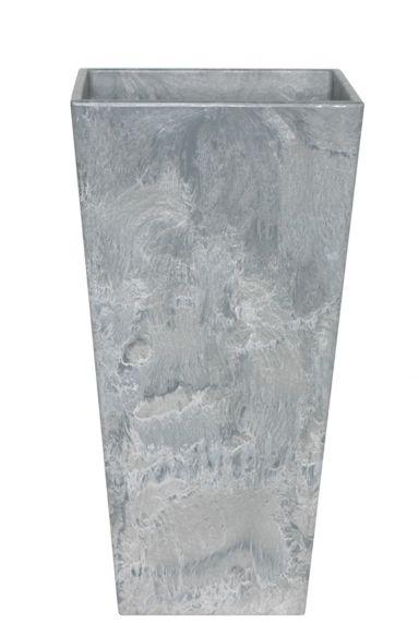 Artstone plantenbak grijs hoog 26