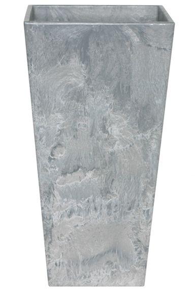 Artstone plantenbak grijs hoog 35