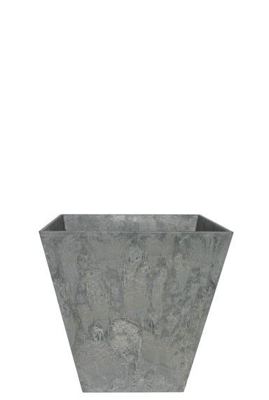 Artstone plantenbak grijs vierkant
