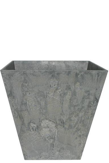Artstone plantenbak grijs vierkant 40