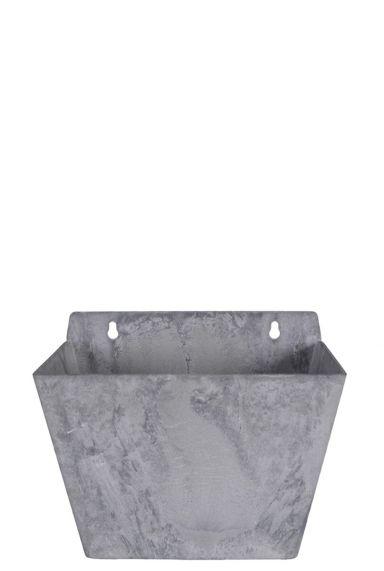 Artstone plantenbak hanger grijs