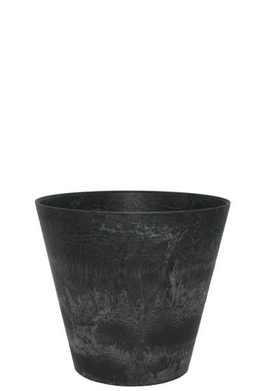Artstone zwarte pot claire 22