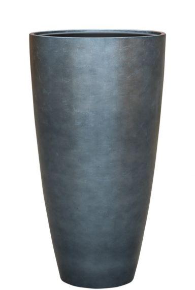 Baq hoge pot blauw zilver