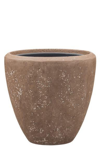 Baq polystone bruine pot