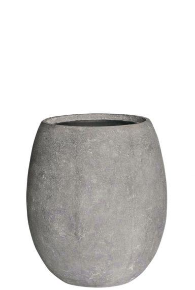 Baq polystone plantenbak grijs