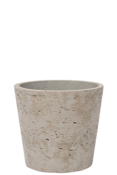 Betonlook pot steen 16