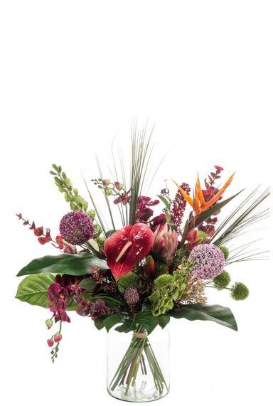 Boeket bloemen exotic