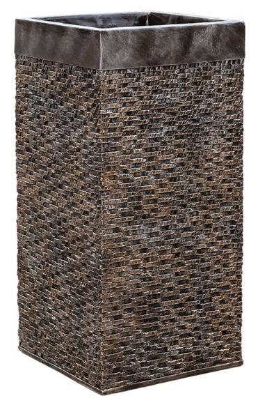Bronzen grote plantenbak baq