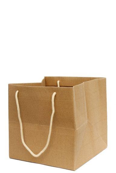 Cadeauzakje plastic binnenkant