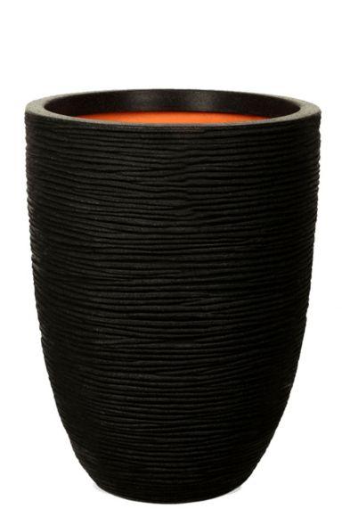 Capi nature rib zwart pot 1