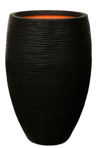Capi plantenbak zwart