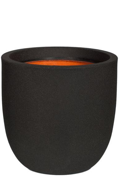 Capi smooth zwarte pot