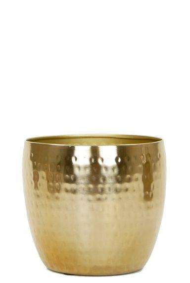 Gouden trendy pot