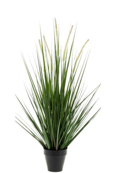 Grasplant zijdeplant nepplant