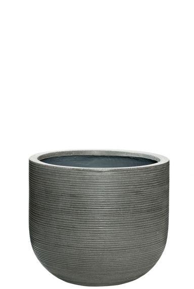 Grijze pot pottery pots