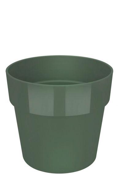 Groene elho plastic pot
