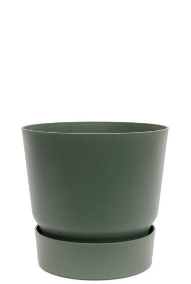 Groene pot kamerplant 1