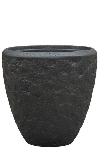 Grote baq plantenbak zwart