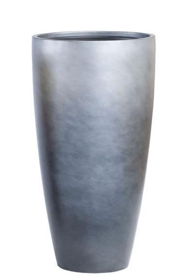 Grote grijze plantenbak gradient