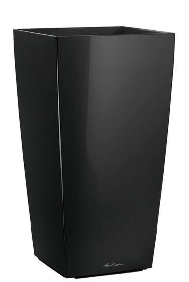 Grote lechuza hoge pot zwart
