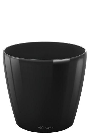 Grote lechuza plantenbak zwart