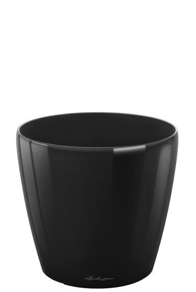Grote lechuza plantenbak zwart 35
