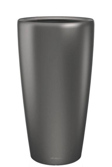 Grote lechuza vaas grijs