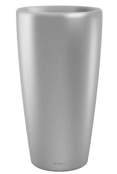 Grote lechuza vaas zilver 40