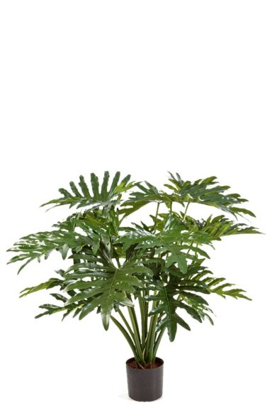 Grote philodendron kunstplant