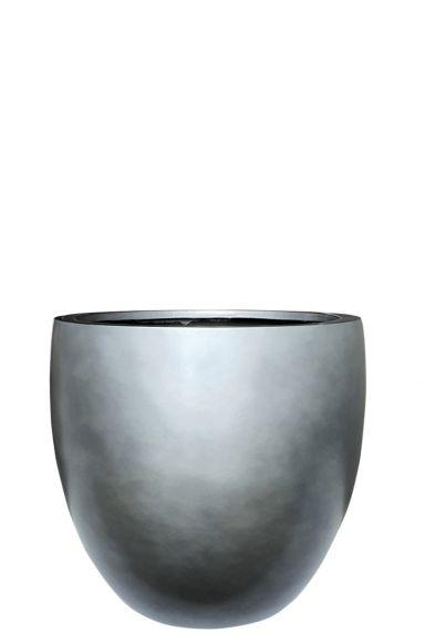 Grote plantenbak zilver