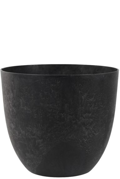Grote stevige zwarte pot