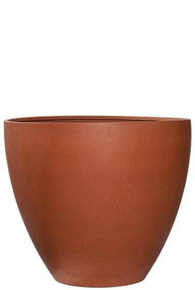 Grote terracotta plantenbak