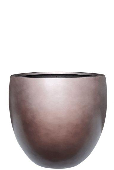 Hele grote plantenbak brons 1