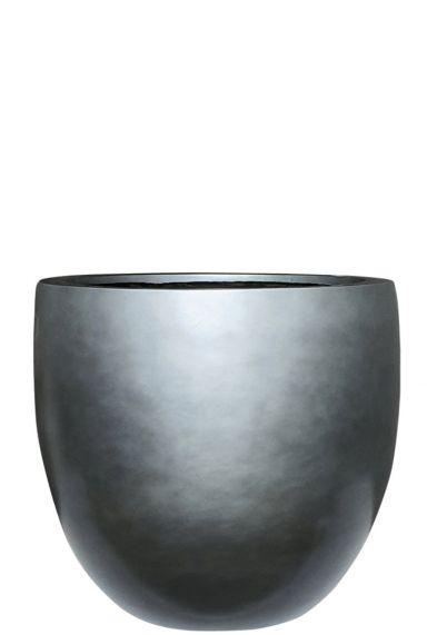 Hele grote plantenbak zilver 1