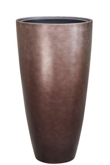 Baq Metallic Silver leaf - Partner matt coffee Vase
