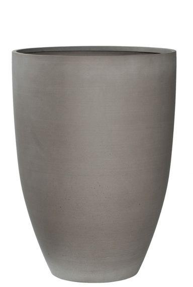 Hoge refined licht grijs pot