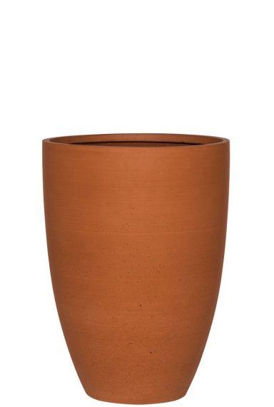Hoge terracotta pot