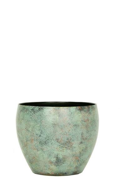 Kleine blaur bruine potten