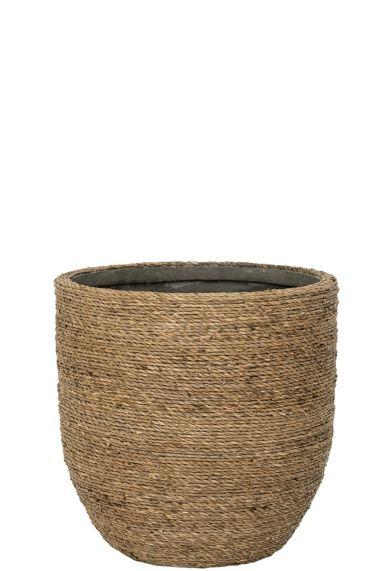 Kleine mand pottery pots