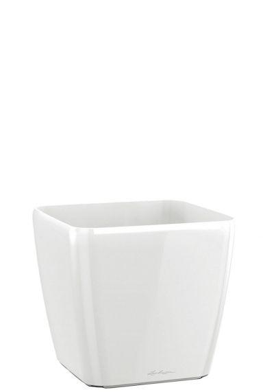 Kleine vierkant witte pot