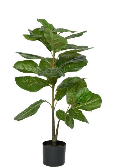 Kunstplant lyrata tabaksplant