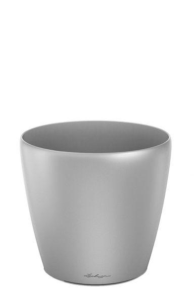 Lechuza classico plantenpot zilver