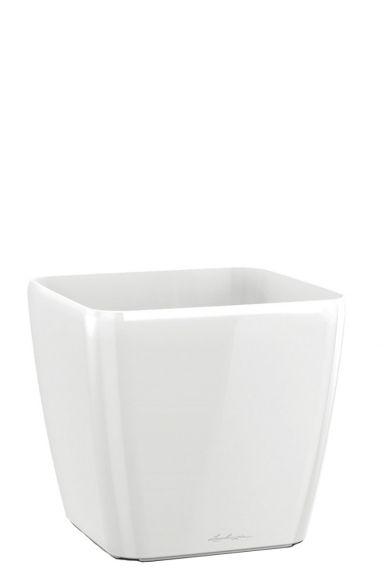 Lechuza vierkante plantenbak wit
