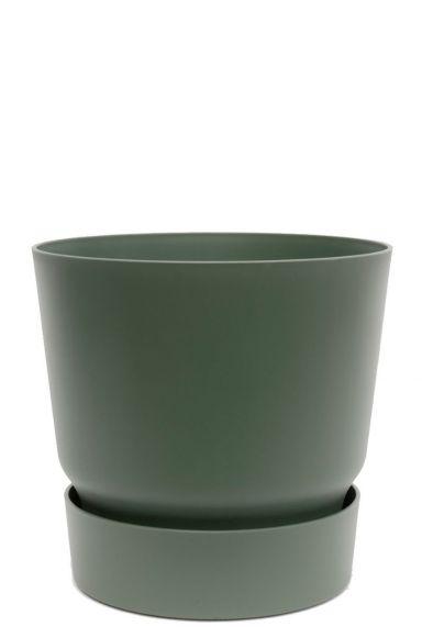 Leuke trendy groene sierpot 1