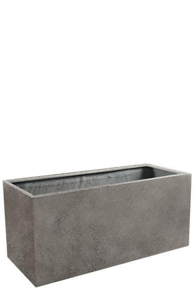 Luca grote plantenbak grijs